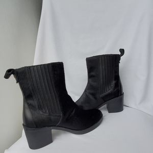 UGG Black Camden Exotic Calf Hair Boots size 8.5 M